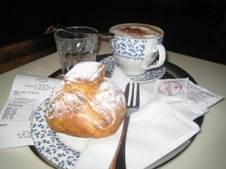 Coffee and famous Viennese pastries